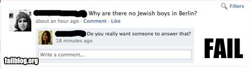 facebook Germany g rated history jewish status update - 2789889024