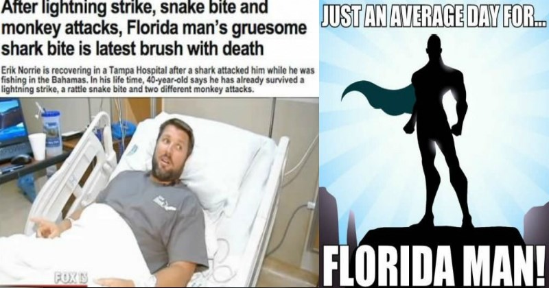 Funny florida man headlines that are out of this world and out of your state