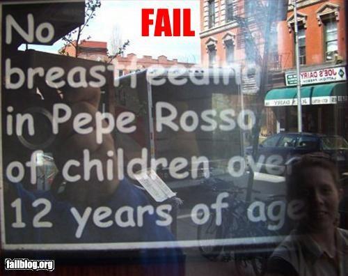 breastfeeding children restaurants signs - 2793113344