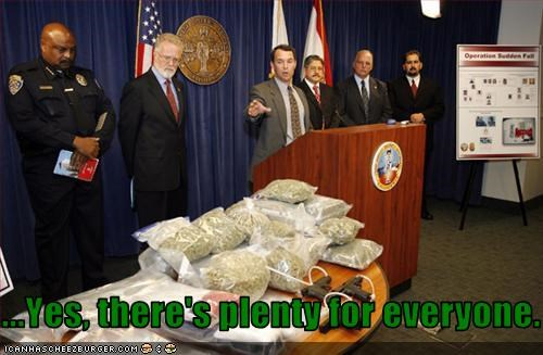 DEA drug busts drugs pot