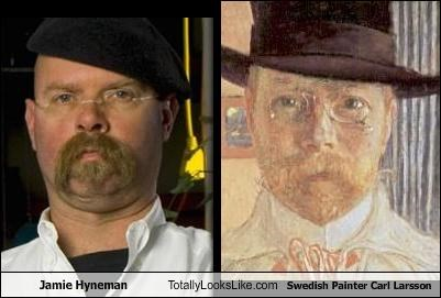 carl larsson jamie hyneman mythbusters painter Sweden