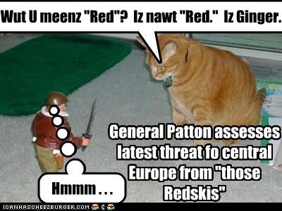 General Patton Assesses Latest Threat Fo Central Europe From Those