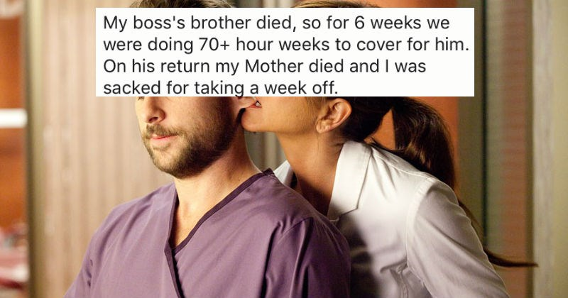 People share stories of the worst things their bosses have ever done to them.