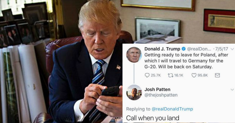 Funny SNL Writer is trolling Donald Trump on Twitter by responding to the President's tweets like they're having a personal conversation.