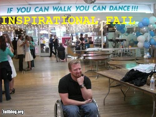 banner dance g rated inspirational walk wheelchair - 2805023488