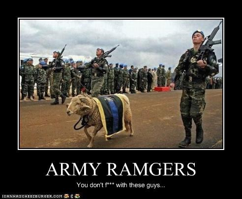 ARMY RAMGERS You don't f*** with these guys...