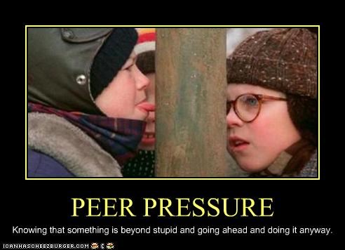 Christmas Story Meme.Peer Pressure Cheezburger Funny Memes Funny Pictures
