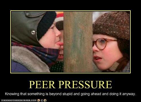 A Christmas Story kids peer pressure peter billingsley scott schwartz - 2811099648
