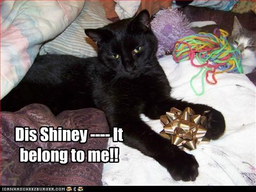 Dis Shiney ---- It belong to me!!