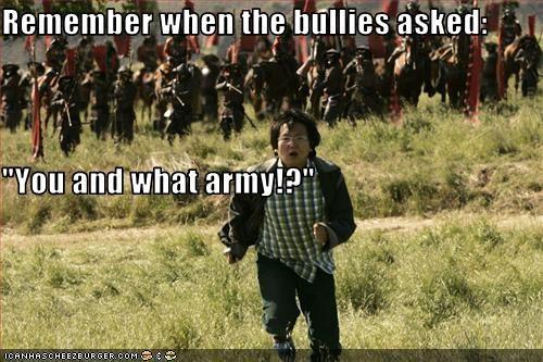 army,bullies,heroes,Masi Oka