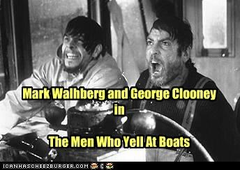 george clooney,mark walhberg,movies