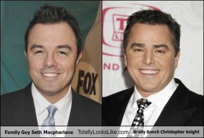 Christopher Knight family guy Seth MacFarlane The Brady Bunch - 2815100416