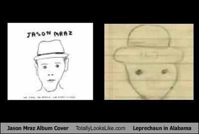 Jason Mraz Album Cover Totally Looks Like Leprechaun in Alabama