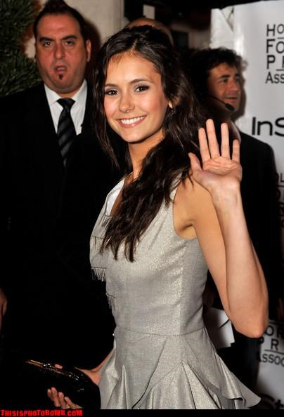 body guard,Celebrity Edition,nina dobrev,security,yawn