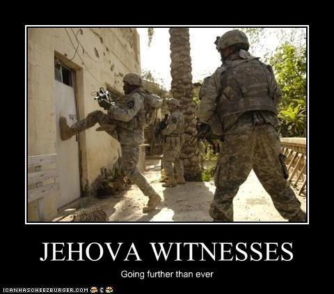 JEHOVA WITNESSES Going further than ever