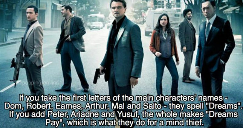 Some Mind-Bending Facts From the Making of Inception