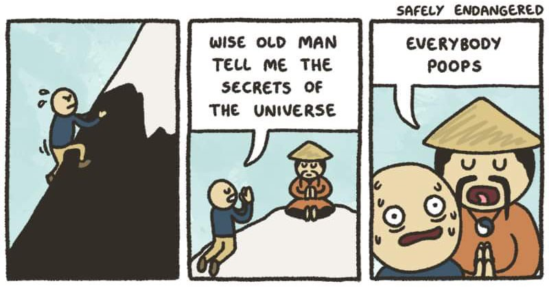 Collection of random and funny web comics.