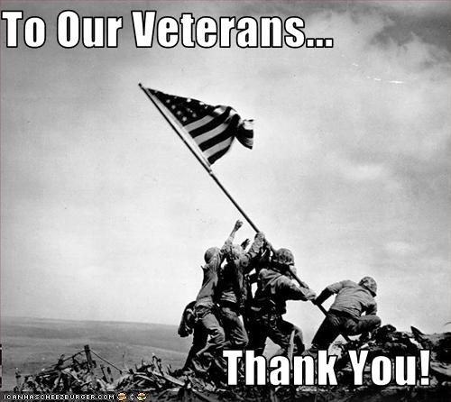 To Our Veterans... Thank You! - Cheezburger - Funny Memes | Funny Pictures