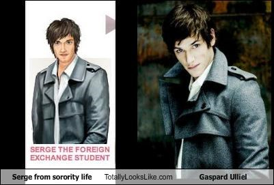 actor gaspard ulliel jacket sorority life video games - 2833468672