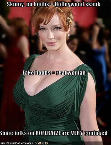 Fake boobs meme