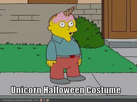 cartoons costume halloween lolz Ralph Wiggum the simpsons unicorn - 2836277504