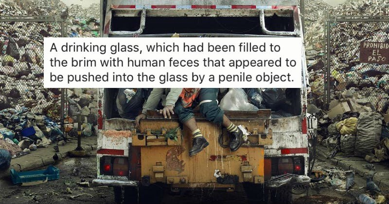 People share stories of the craziest and most disturbing things they've found in dumpsters.