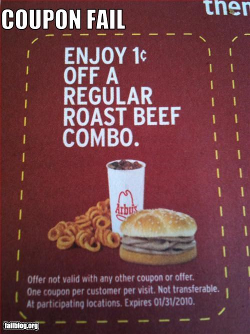 arbys cheap coupon food g rated restaurant - 2847959808