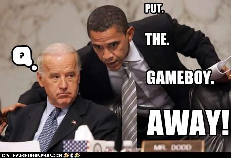 barack obama,democrats,joe biden,president,vice president,video games