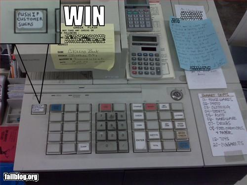customer service customers g rated register suck win - 2858877952