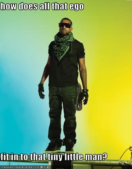 ego kanye west Music rapper
