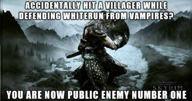 Hilarious Examples of Video Game Logic