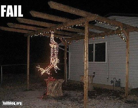 Christmas Lights Fail