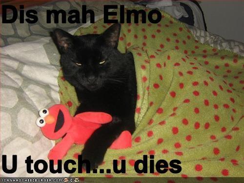 Dis Mah Elmo U Touchu Dies Cheezburger Funny Memes Funny