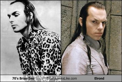 brian eno,elrond,Hugo Weaving,Lord of the Rings,Music