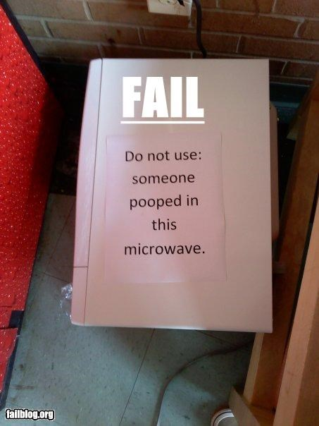 g rated,microwave,poop,signs,toilet,why,wtf