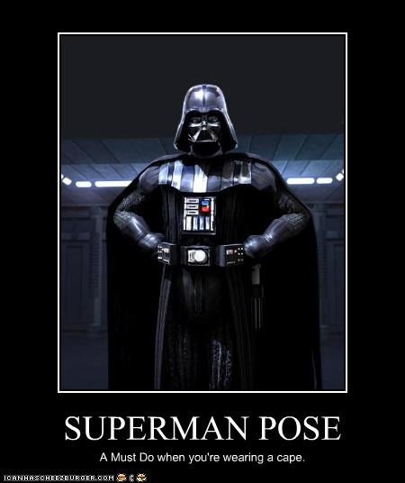 darth vader,poser,superman