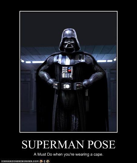 darth vader poser superman - 2866840832