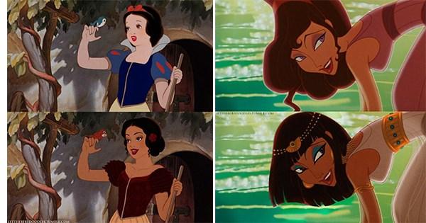 otra raza princesa disney