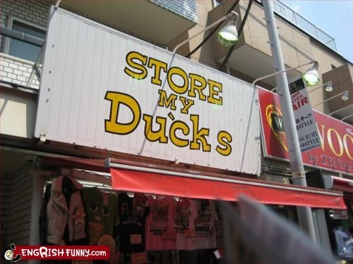 business duck g rated store front - 2869130496