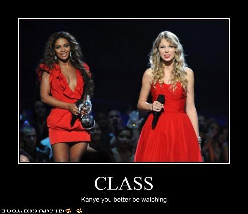 beyoncé classy country kanye west singer taylor swift - 2869175552