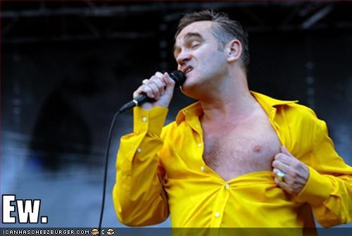 gross morrissey nipples singer - 2869580288