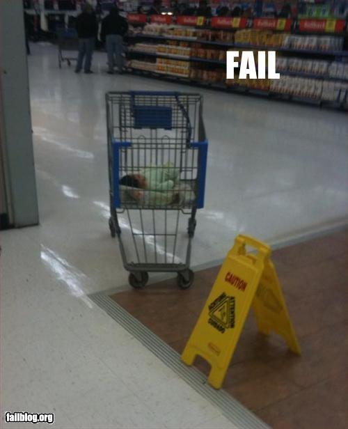 abandoned baby child parenting shopping cart Walmart wal mart - 2870502656