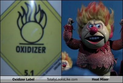 animation flame hair heat miser label rankin and bass stop motion