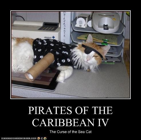 PIRATES OF THE CARIBBEAN IV The Curse of the Sea Cat