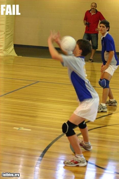 face g rated hit kid ouch sports volleyball - 2882794496