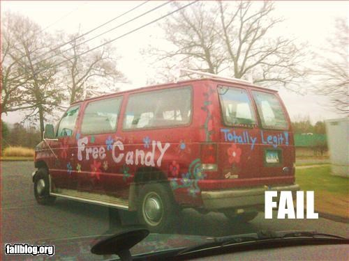candy creepy man pedobear van - 2885869312