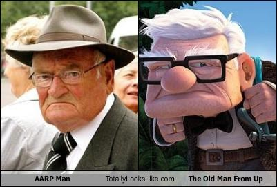 animation Carl Fredrickson cartoons movies old man pixar up - 2886885888