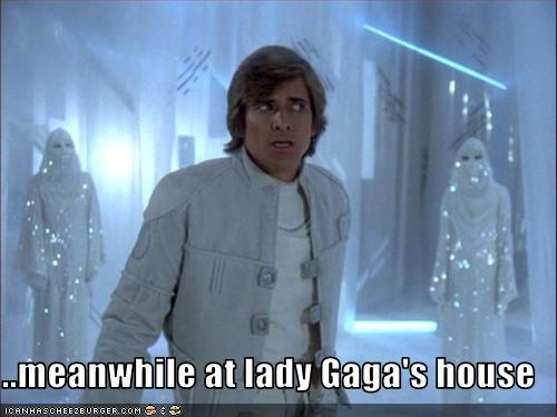 dirk benedict,house,lady gaga