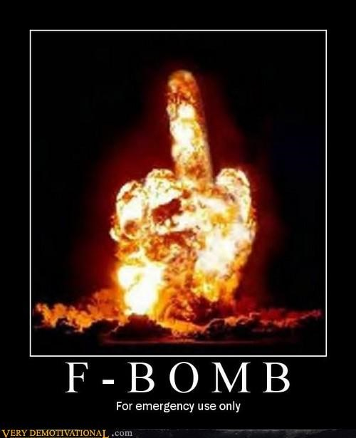 explosion f bomb nukes swear words Terrifying