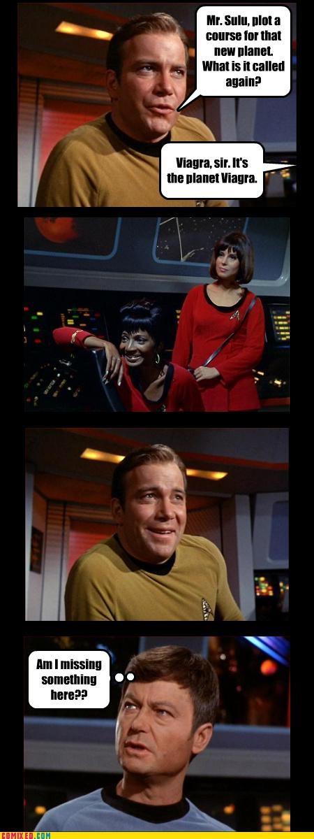 sexy time,Star Trek,viagra